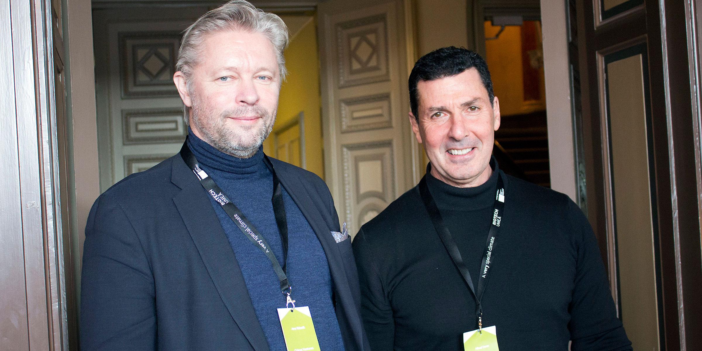 Michael Doron and Arne Nabseth från Cidron Ventures.