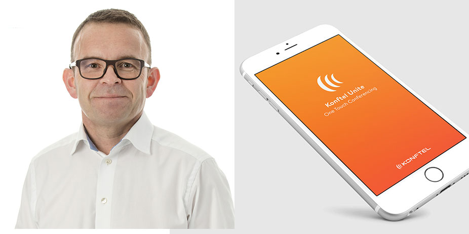 Peter Renkel, vd för Konftel.