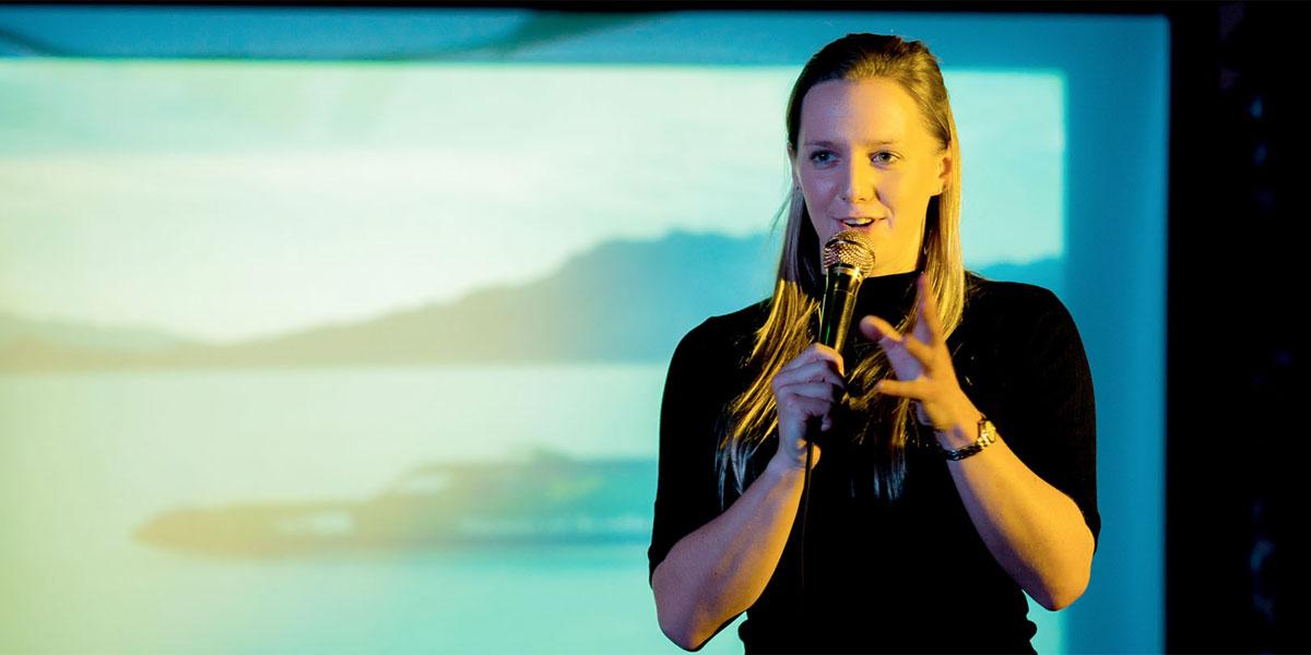Anna Ploszajski är en av talarna på årets Creative Summit.