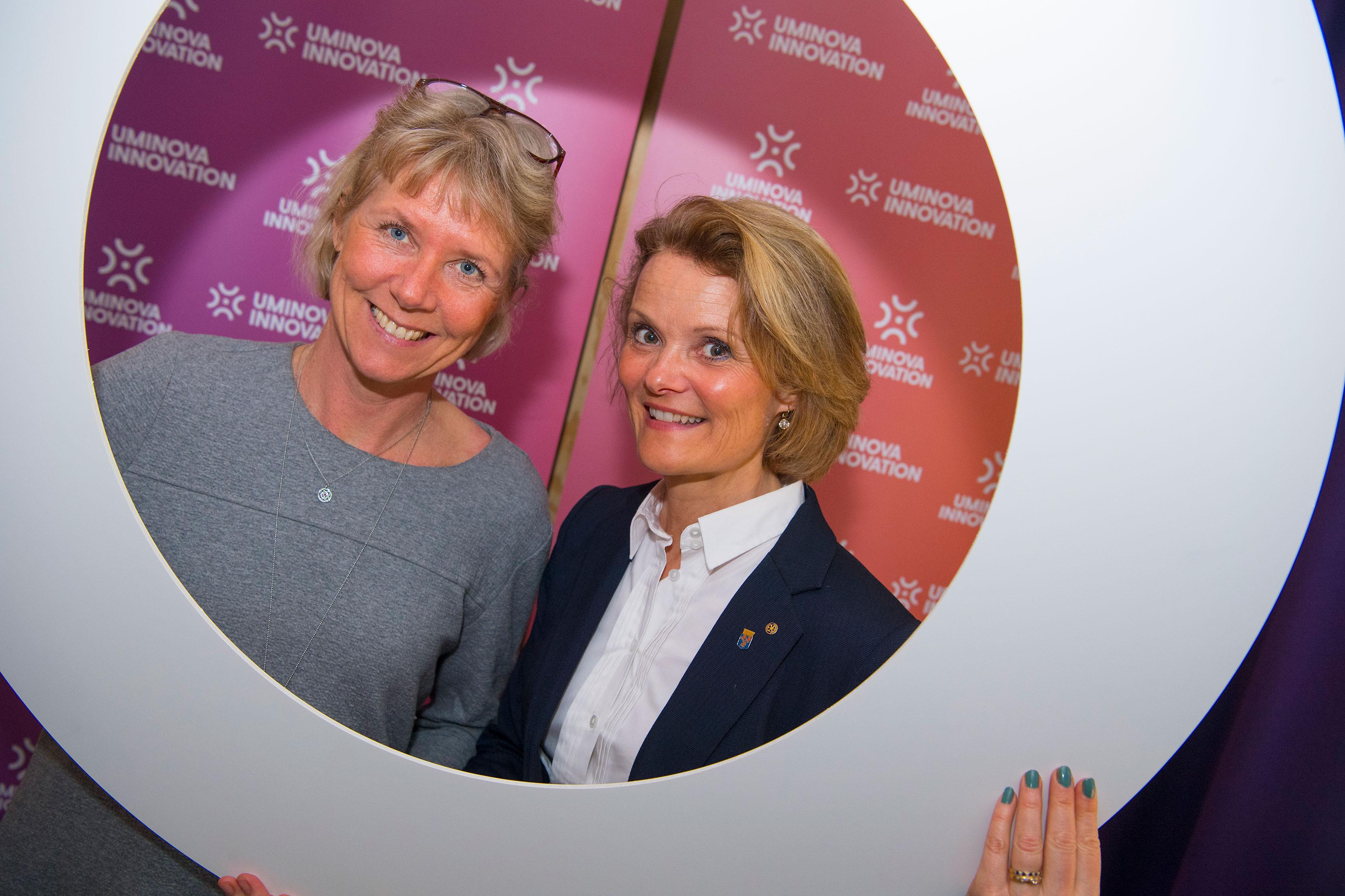 Maria Wallin Wållberg och Cathrin Alenskär.