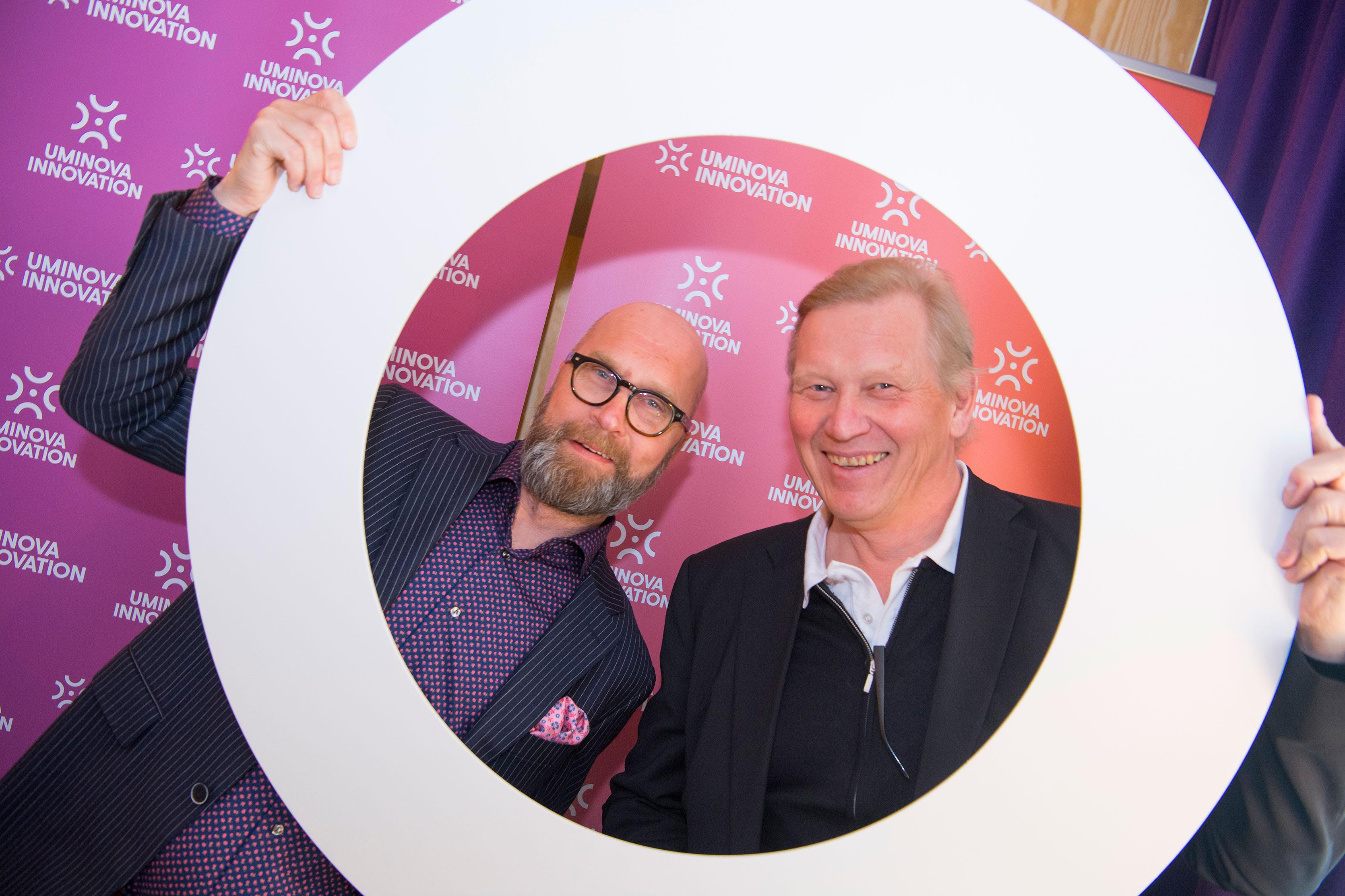 Richard Larsson och Derny Häggström.