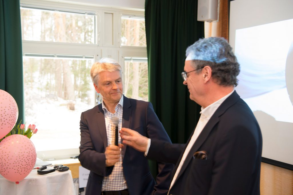 Nils-Olof Forsgren och Roland Carlsson.
