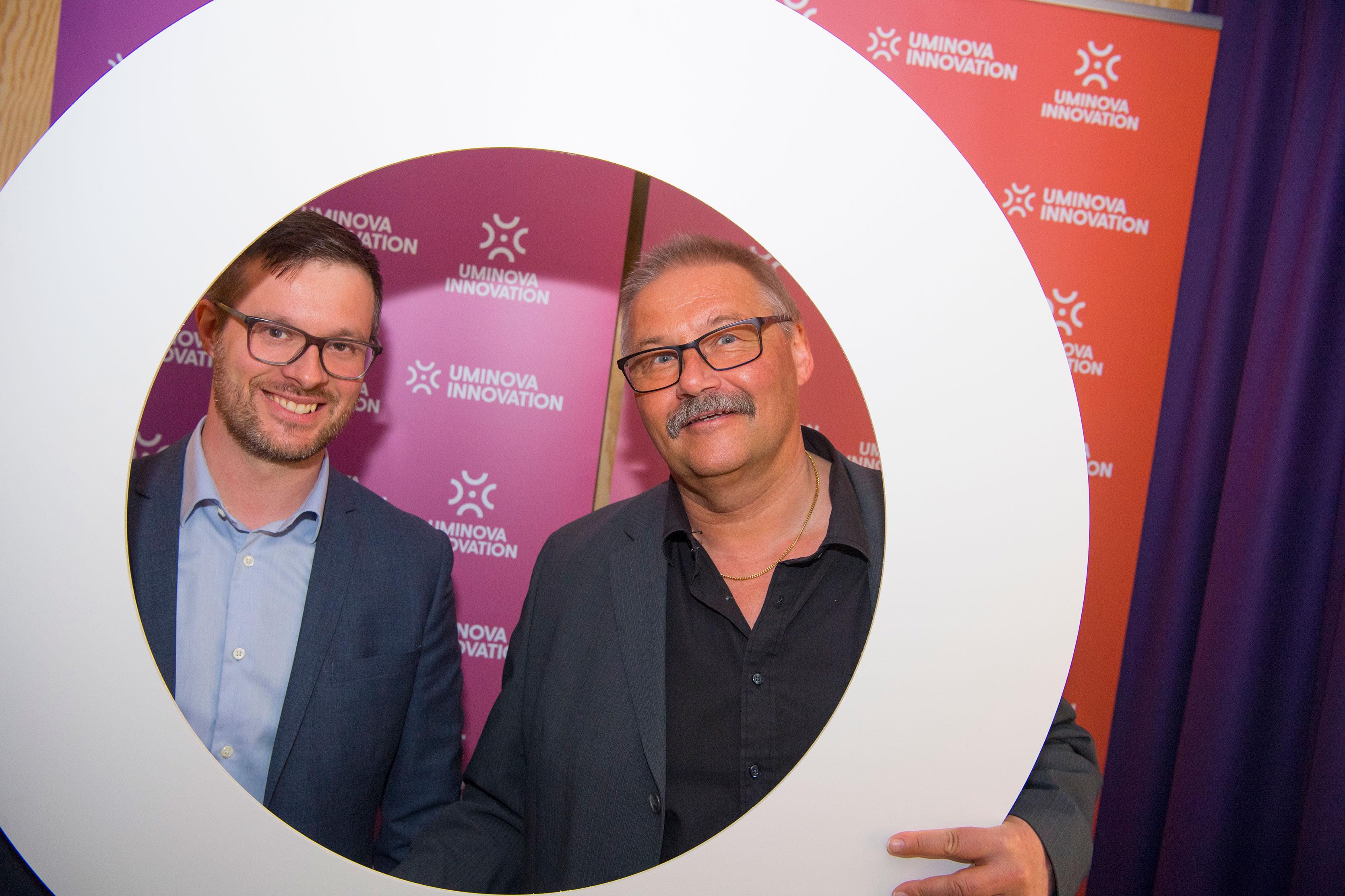 Andreas Vidman och Kurt Strömgren.