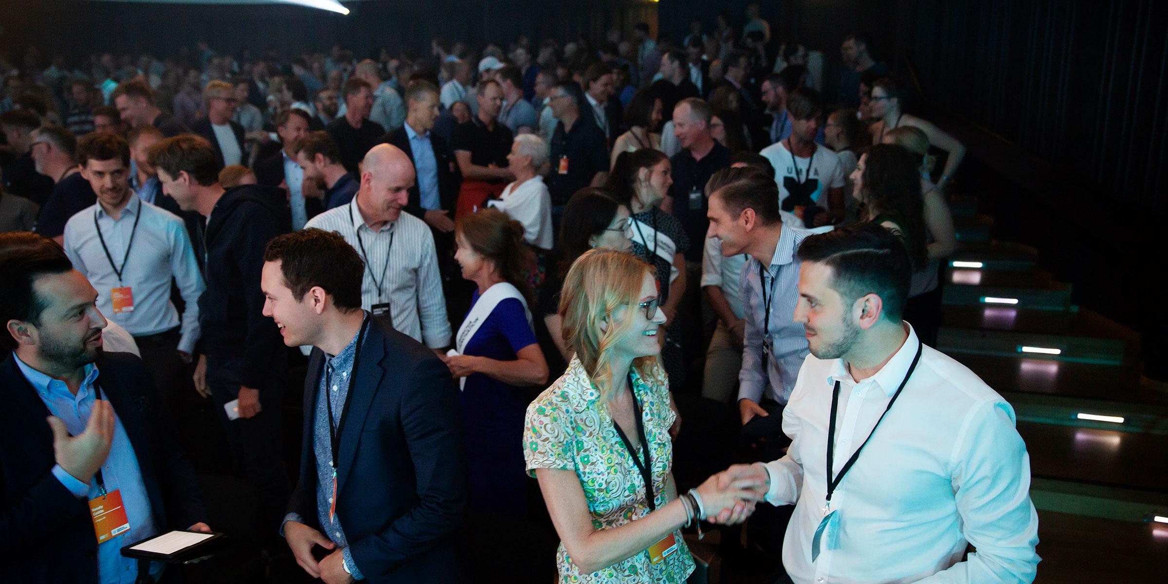 Norrlandsoperans stora konsertsal fylldes av närmare 500 nyfikna som ville veta mer om hur långt utvecklingen kring artificiell intelligens kommit.