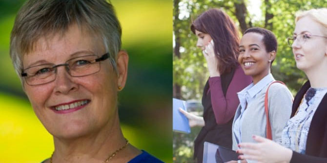 Maud Olofsson är en av talarna på Women with impact, 4 oktober 2018.