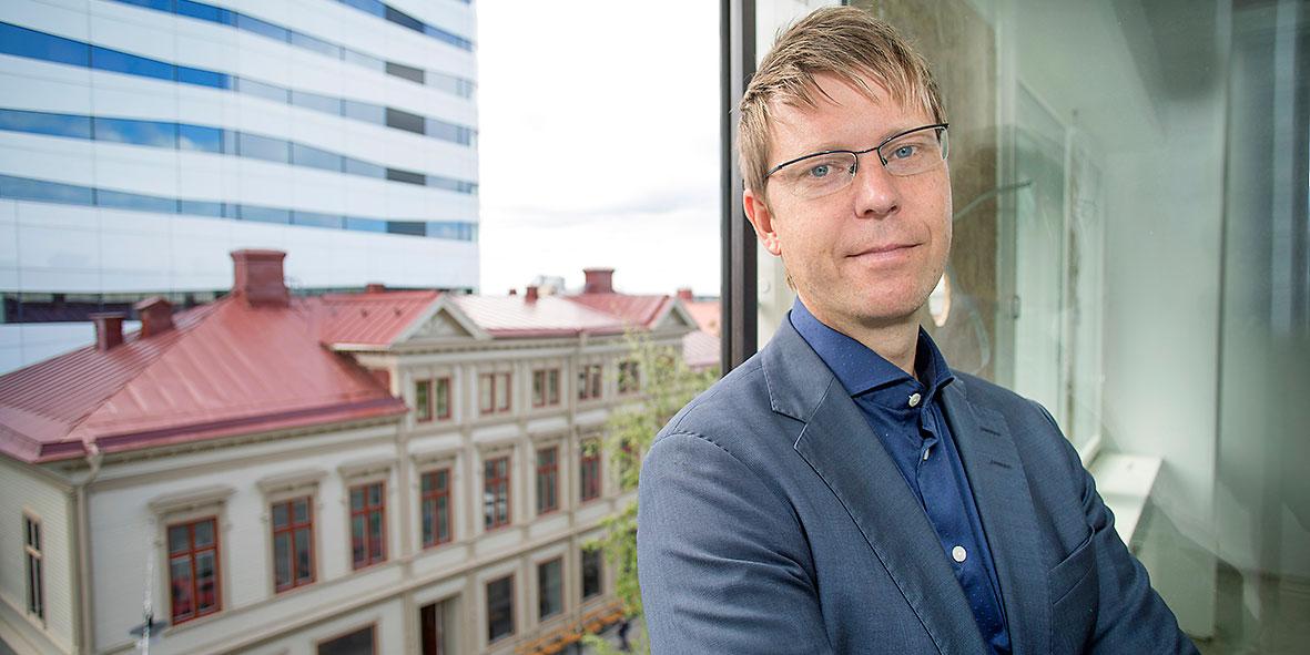 Andreas Forsberg, avgående vd för Trimma.