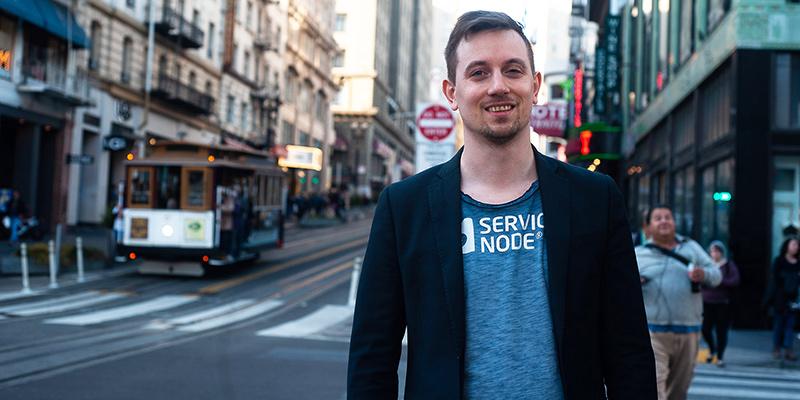 Johannes Nylund, grundare av Service Node, tar med sig insikten om att samverkan är viktig.