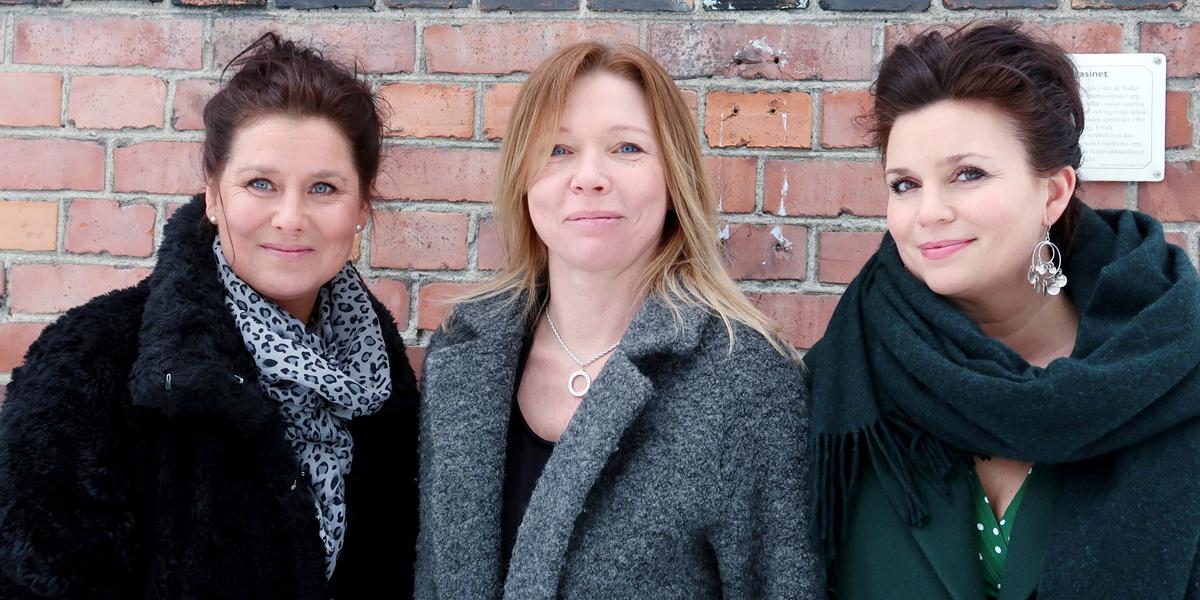 Kända profiler stärker eXpression och Future Retail Lab, en nationell satsning på strategisk innovations- och affärsutveckling för ägardrivna bolag och entreprenörer som driver framtidens handel. Entreprenören och forskaren Annakarin Nyberg, till höger, ska tillsammans med tidigare vd för Visit Umeå Anna Wikholm, till vänster, etablera verksamheten i Umeå. I mitten Marlene Johansson, vd för eXpression Umeå.