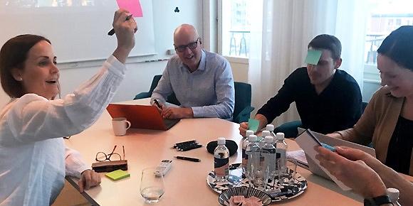 Innovationsdag hos Umeåföretaget Teknikhuset.