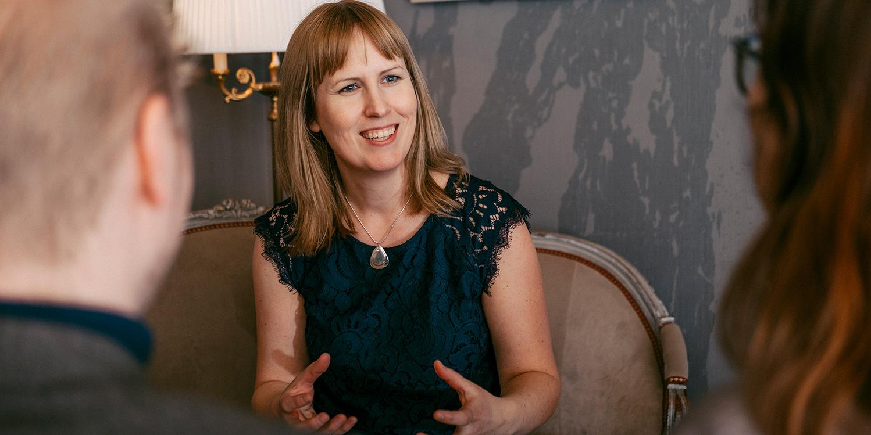 """""""UBI är en startmotor. När bolagen lämnar oss ska de köra själva"""", säger Jennie Ekbeck, vd på UBI sedan 2012."""