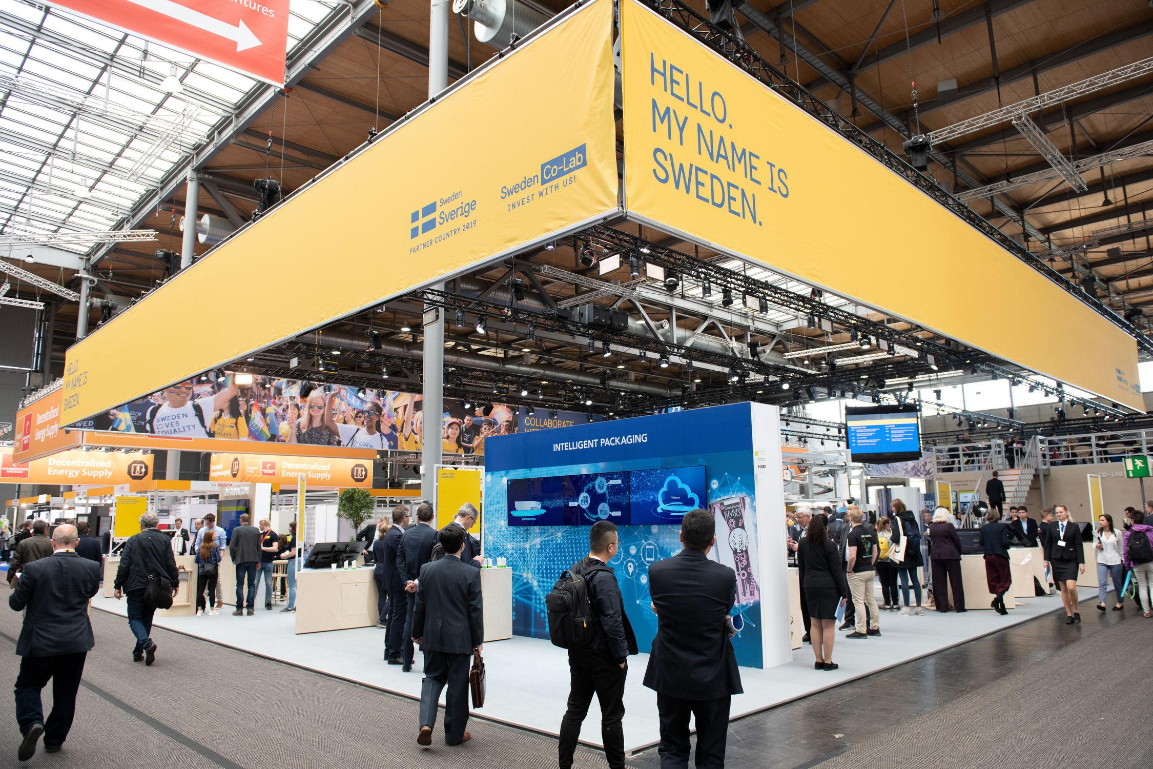 Att Sverige är partnerland på årets Hannovermässa med 200 000 besökare ger en extra skjuts åt Piczitup och de övriga svenska företagen som är på plats.
