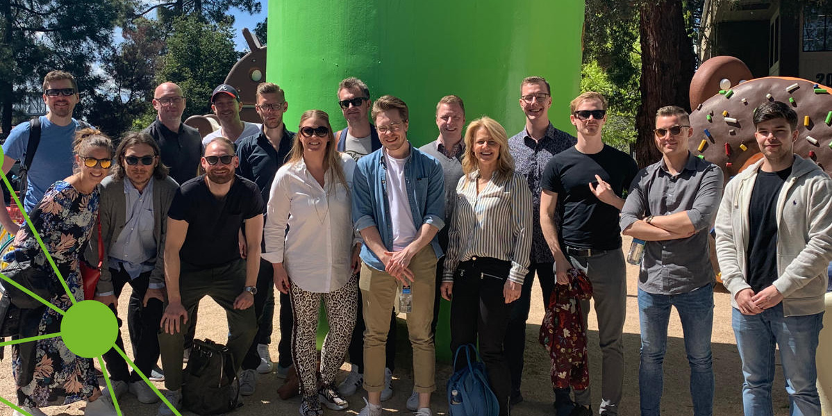 Stor inspiration från startupvärlden i Silicon Valley fick detta gäng från Sverige som nyligen var på studieresa. Med på resan var deltagare från Uminova Innovation och Blekinge Business Incubator.