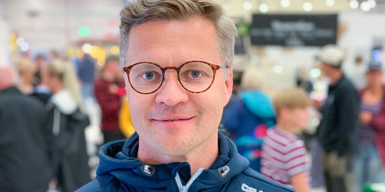 En digital skattjakt är ett sätt att engagera barn och deras familjer under mässbesöket, och ger ett mervärde för utställare, säger Johan Dahlberg, vd för Stora Nolia.