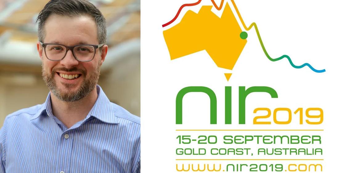 Andreas Vidman, vd för Umeåföretaget Prediktera, hoppas på många affärskontakter under konferensen i Australien.