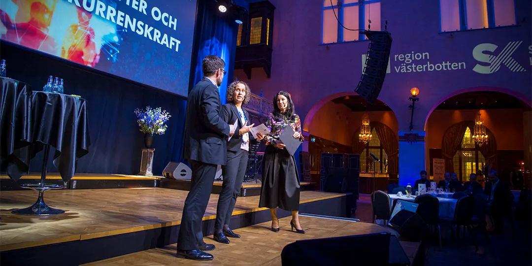 Från invigningen av Västerbottensveckorna på Grand Hôtel 2019. År 2020 kommer temat vara hållbarhet och jämställdhet.