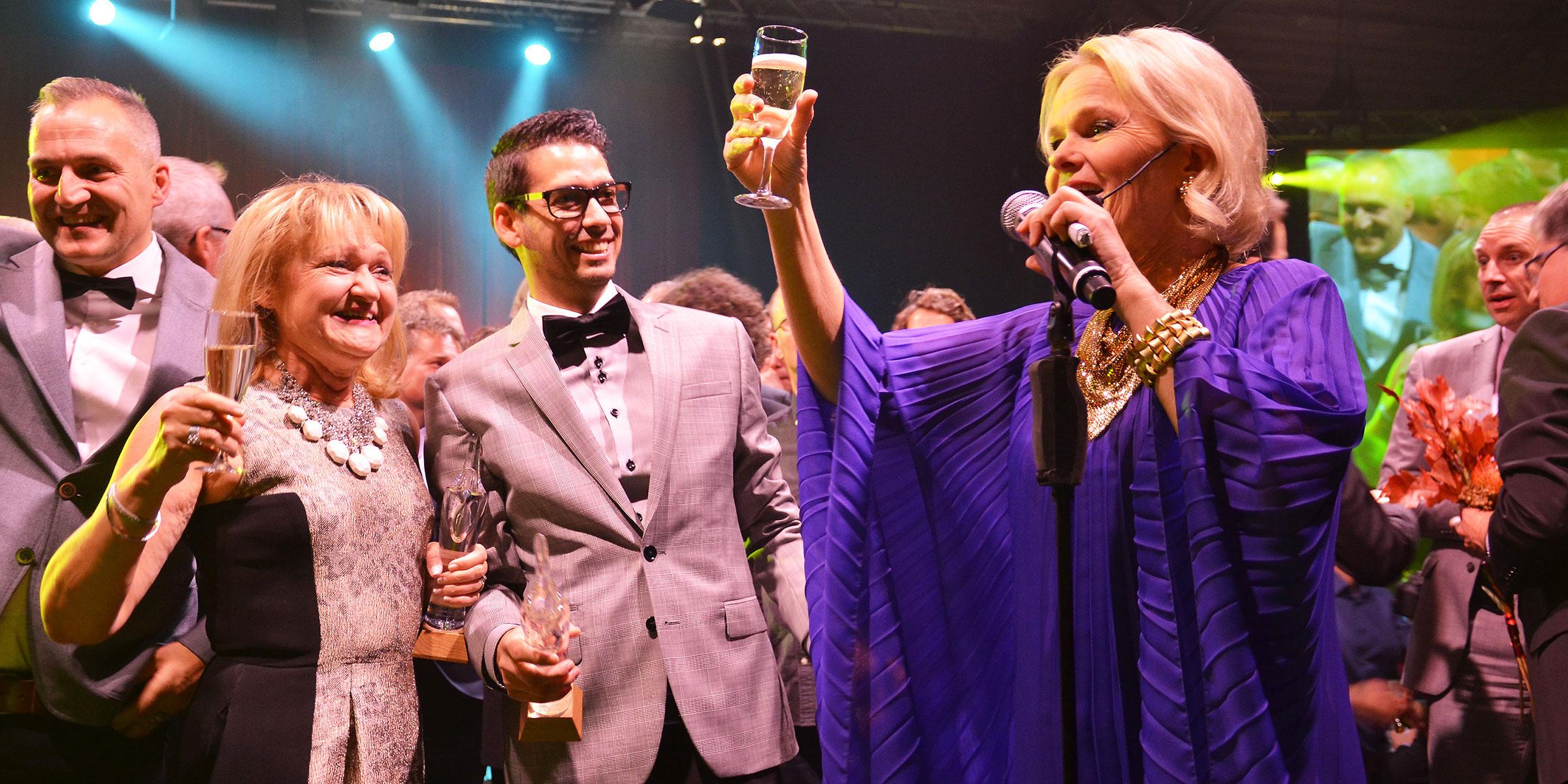 Umeågalan hyllar några av de främsta företagarna i Umeå. Bilden från ett tidigare år.