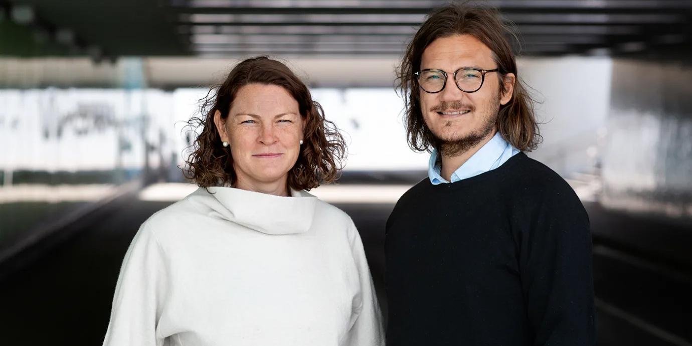 Caroline Jönsson och Joakim Blomqvist vill att människor ska få en enklare väg till bättre mental hälsa.