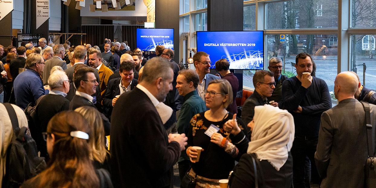 Stort engagemang under heldagen kring digitala Västerbotten.