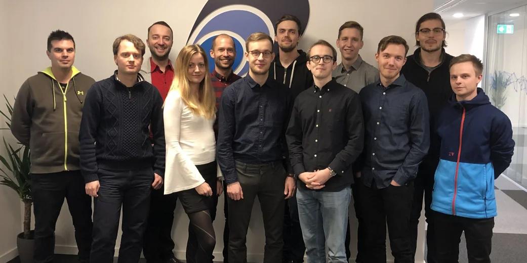 Nya medarbetare på Elastisys, ett snabbväxande företag som genom åren fått affärstöd av Uminova Innovation.